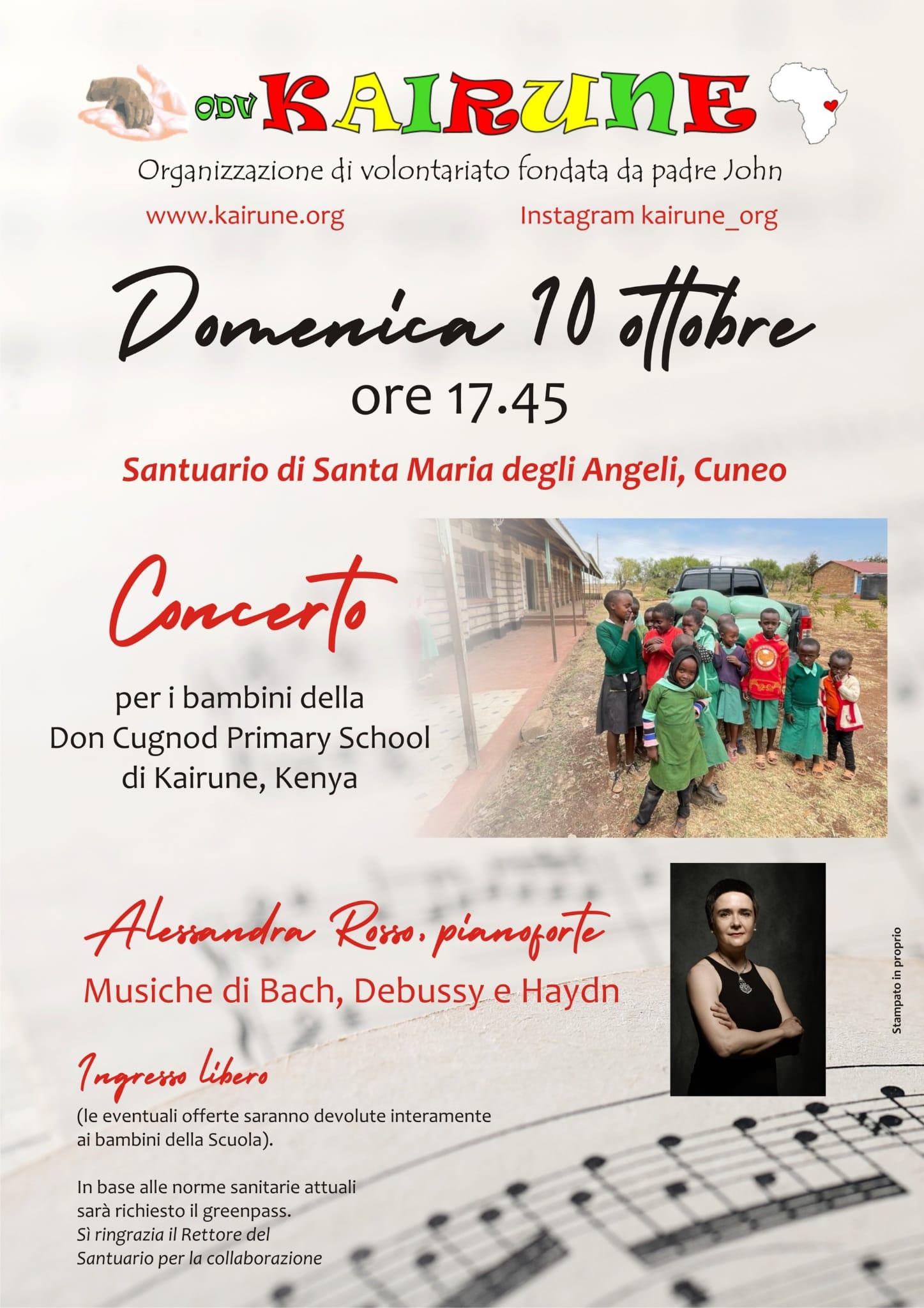 Concerto per i bambini della Don Cugnod